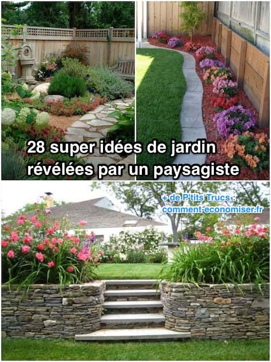 28 super id es de jardin r v l es par un paysagiste for Implantation jardin