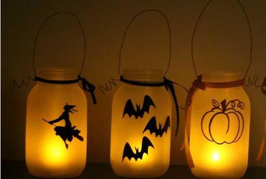 lampions givrés à fabriquer diy pour halloween