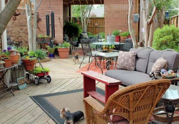 Ajoutez des éléments organiques à vos espaces de détente.