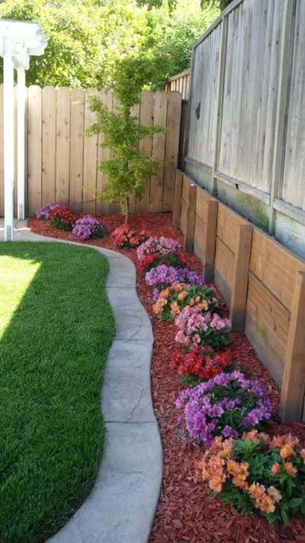 Jouez avec les associations de couleurs de votre jardin.