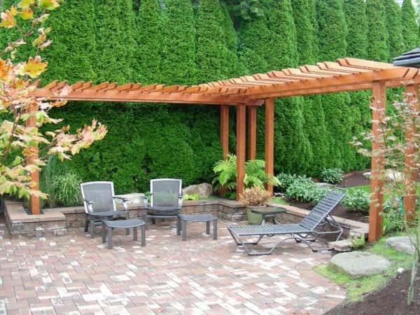 Utilisez chaque élément de votre jardin.