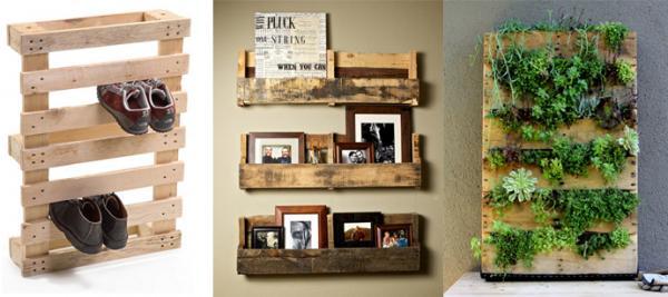 35 idées pour faires des meubles avec des palettes en  bois
