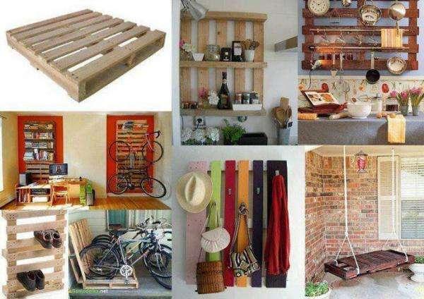 35 façons originales de faire des meubles avec des palettes