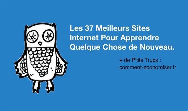 les 37 meilleurs sites internet pour apprendre quelque chose de nouveau