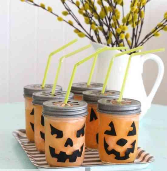recette du granité orange pour halloween