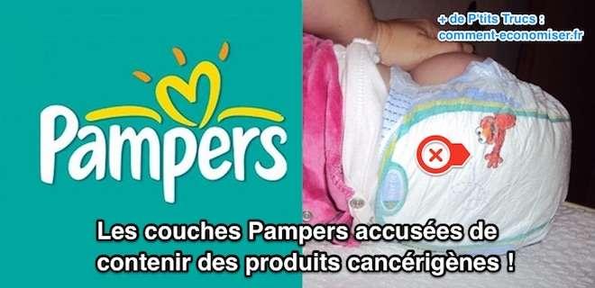 Les Couches Pampers Accusées De Contenir Des Produits Cancérigènes