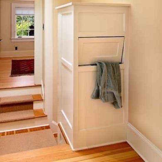 Avec les descentes de linge, plus besoin de grimper les escaliers.