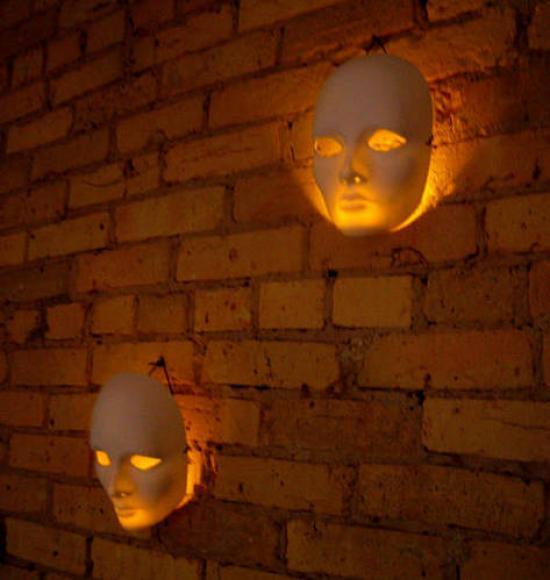 des masques pour faire des appliques