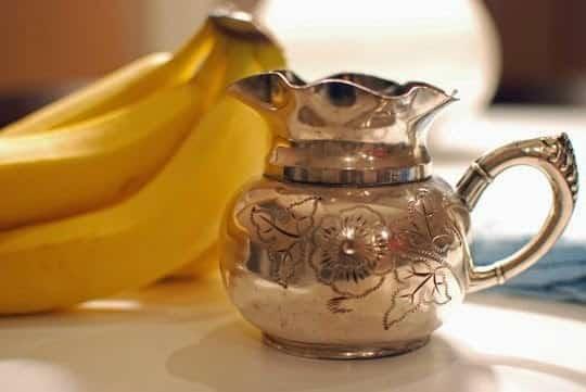 faire briller argenterie avec peau banane
