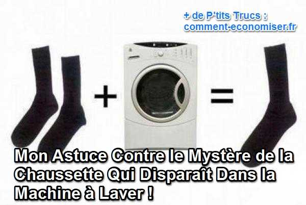 mon astuce contre le myst re de la chaussette qui dispara t dans la machine laver. Black Bedroom Furniture Sets. Home Design Ideas