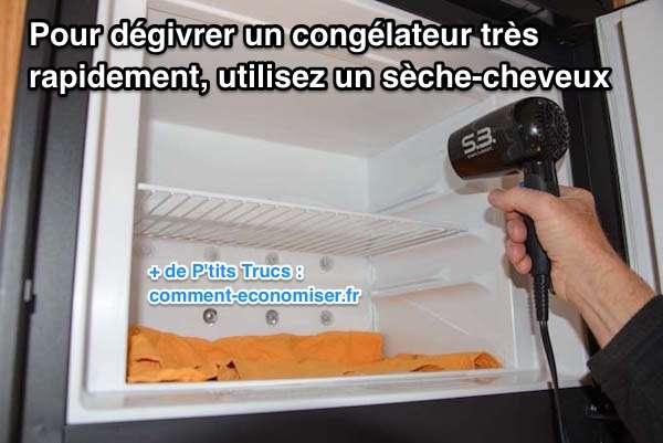 Comment d givrer un cong lateur tr s rapidement avec un - Comment degivrer un congelateur armoire ...