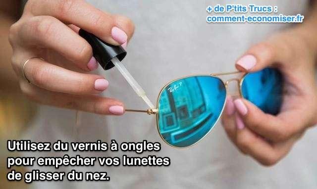 Avec quoi resserrer des lunettes