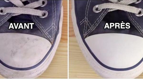 Comment nettoyer baskets facilement