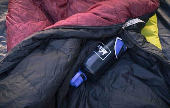 Comment faire pour se réchauffer les pieds quand on fait du camping ?
