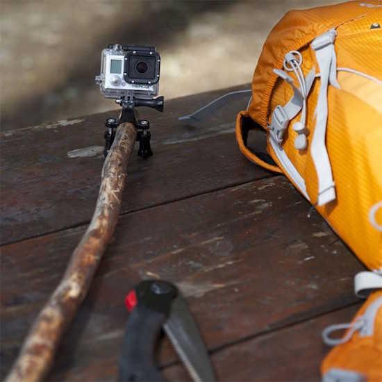 Comment faire un selfie stick lorsque l'on fait du camping ?