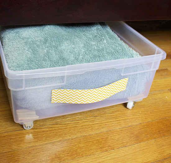 Comment optimiser l'espace sous votre lit ?