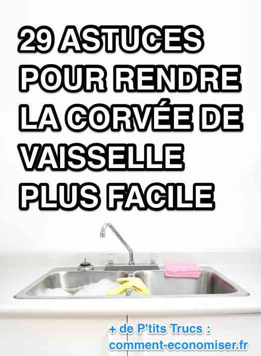 Astuces pour rendre la vaisselle plus facile