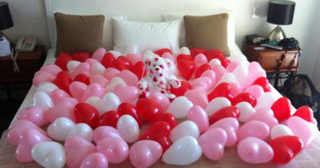 Idées Simples Et Pas Chères Pour La SaintValentin - Romantiques idees de decoration de chambre pour saint valentin