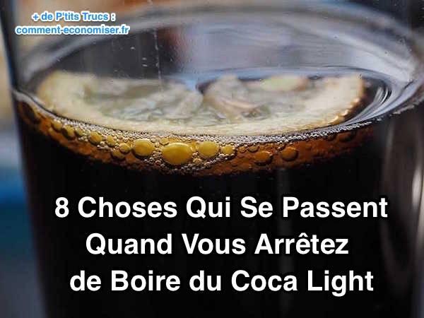 8 choses qui se passent quand vous arr tez de boire du coca light. Black Bedroom Furniture Sets. Home Design Ideas