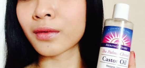L'huile de ricin réduit les imperfections de la peau