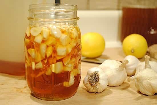 Bocal miel et ail