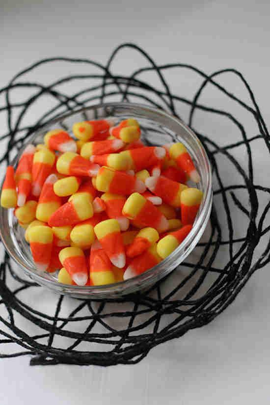 Bol de bonbons halloween
