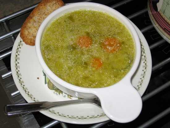 alicaments bouillon de légumes pour soigner gastro
