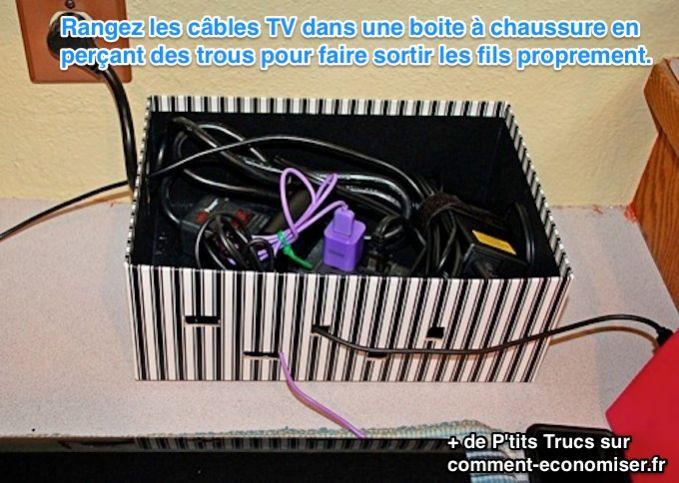 L'Astuce Déco Pour Cacher Proprement Ses Câbles Electriques.