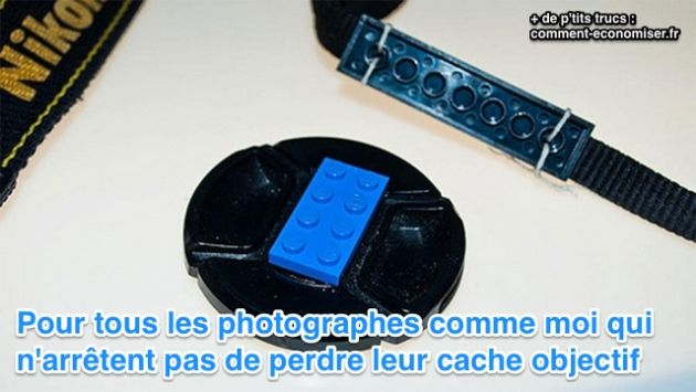 cache objectif photo