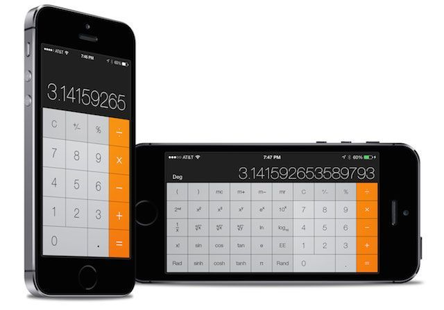 Comment accéder à la calculette scientifique iphone
