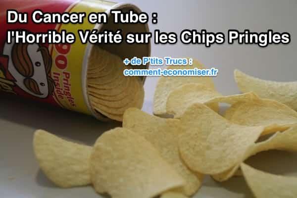 Les chips Pringles sont dangereuses pour la santé.
