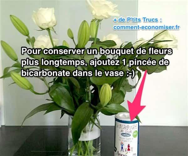 2 astuces pour conserver un bouquet de fleurs plus longtemps. Black Bedroom Furniture Sets. Home Design Ideas