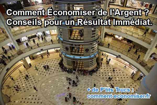 Grand centre commercial de plusieurs étages