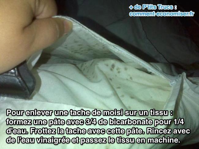 √ Comment Enlever Le Moisi Sur Du Tissu