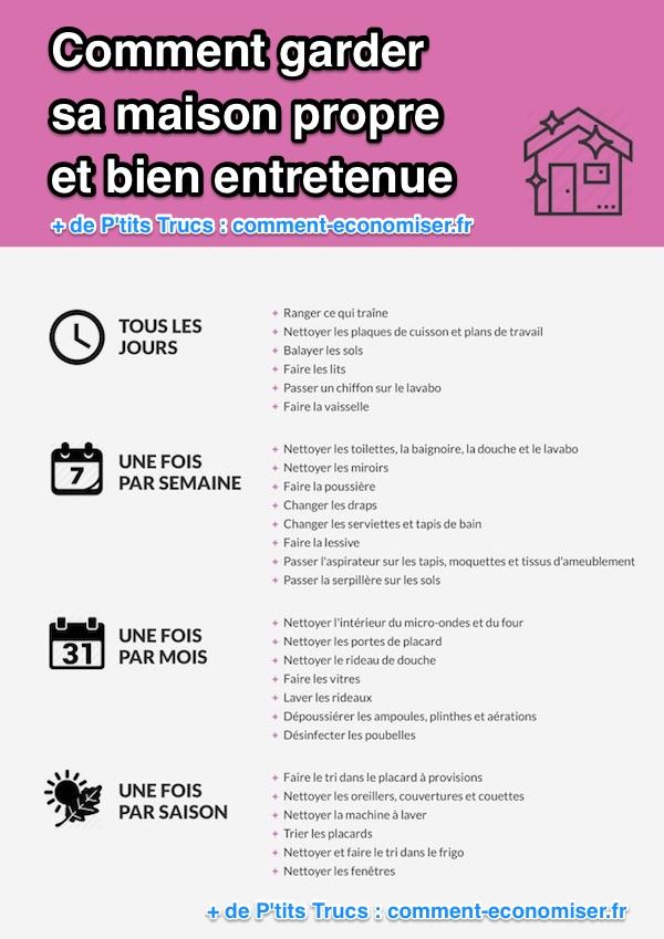 voici la bonne routine adopter pour une maison propre et. Black Bedroom Furniture Sets. Home Design Ideas