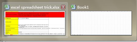 Utilisez le raccourci Ctrl + Tab pour basculer entre les fichiers excel facilement