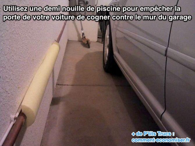 Comment ne plus cogner la porte de votre voiture contre le mur du garage - Votre top garage le plus proche ...