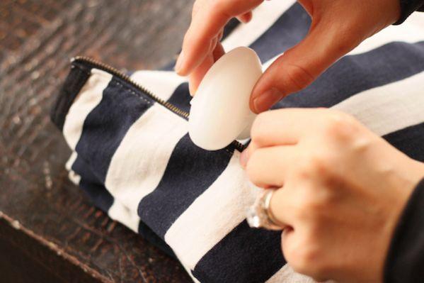 Utilisez du savon pour débloquer une fermeture eclair