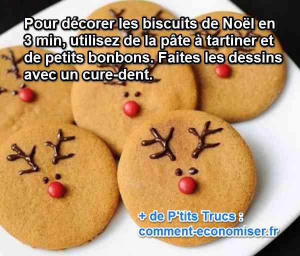 Decorez Vos Biscuits De Noel En 3 Min Avec Cette Astuce