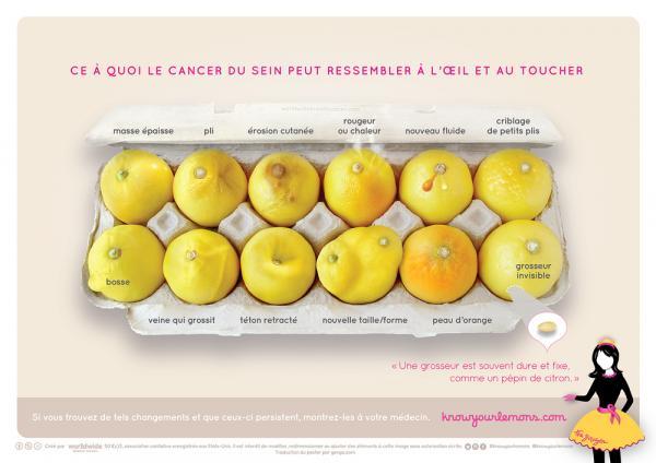 voici à quoi peut ressembler un cancer du sein