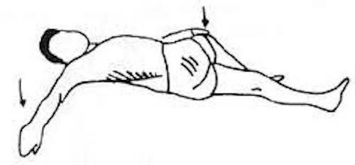 7 tirements faire en 7 min pour soulager les douleurs du bas du dos compl tement. Black Bedroom Furniture Sets. Home Design Ideas
