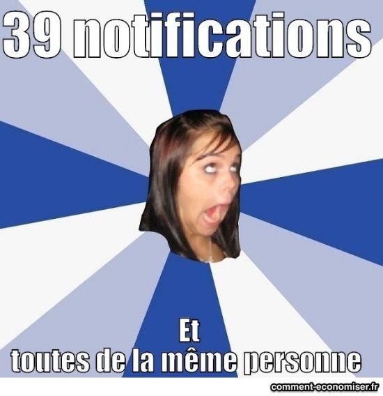 39 notifications fb