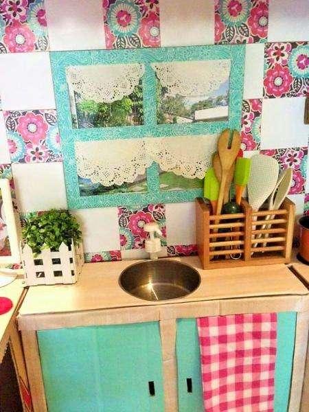 Comment Faire Une Mini Cuisine En Carton Pour Votre Bambin