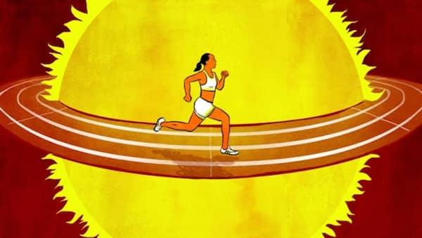 comment faire du sport quand il fait chaud