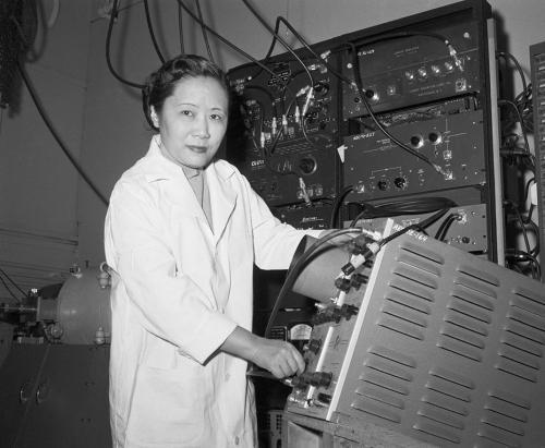 Chien-Shiung Wu a reçu le prix Nobel de physique.