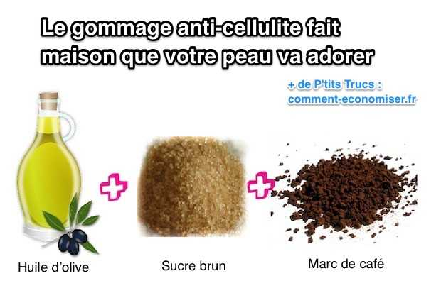 huile anti cellulite maison efficace
