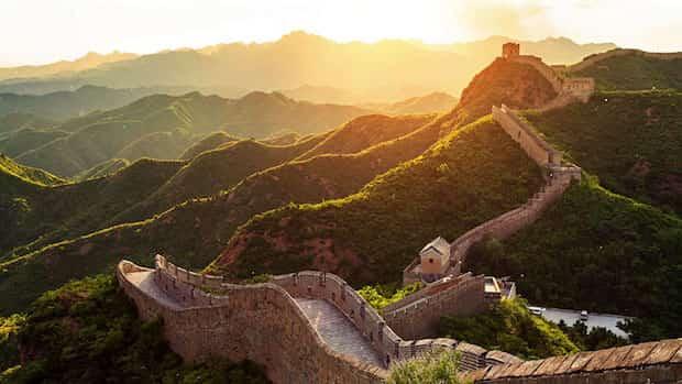Grandes muraille de chine sans personne