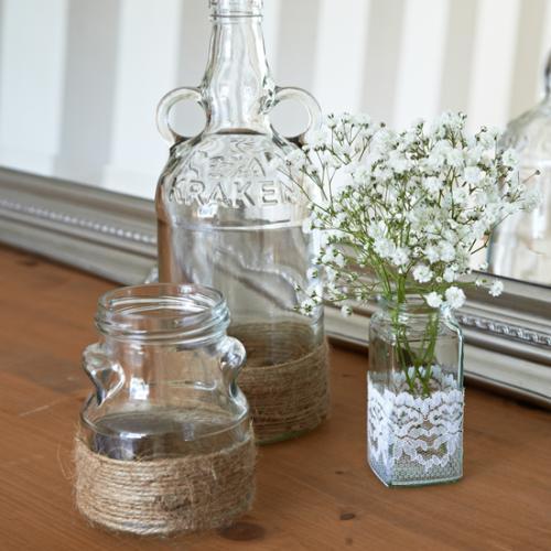recyclez des ports en vases