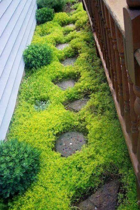 25 super id es faciles et pas ch res pour votre jardin - Table de jardin qui reste dehors creteil ...