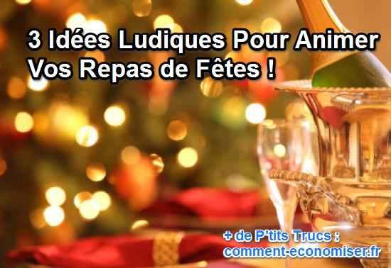 Top 3 Idées Ludiques Pour Animer Vos Repas de Fêtes ! VT92